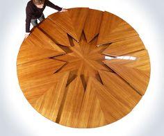 Fletcher Capstan - World's Coolest Expandable Table