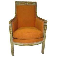 Directoire chair, Circa 1780.