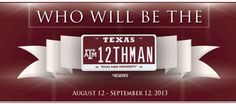 Texas A Fans Compete for One-of-a-Kind License Plate