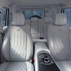 The new Mercedes-AMG G Mercedes-Benz presents - benz g class Mercedes G Wagon Interior, Mercedes G Wagon Amg, New Mercedes Amg, Mercedes Benz G Class, Mercedes Maybach, Gwagon Mercedes, Car Interior Upholstery, Automotive Upholstery, Car Interior Design