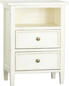 Harbor 2 Drawer Nightstand   Crate And Barrel