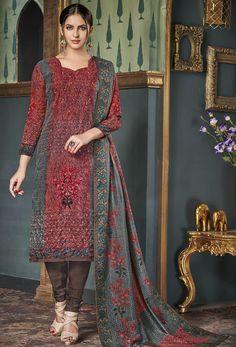 0c5b066734 16 best Tussar Silk salwar kameez images in 2018 | Palazzo suit ...