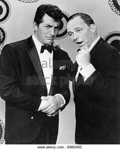 Dean Martin Dean Martin Dean Martin et Franck Sinatra - Stock Image