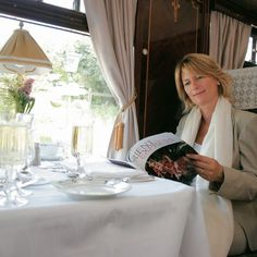 Dinning Car on the Orient Express
