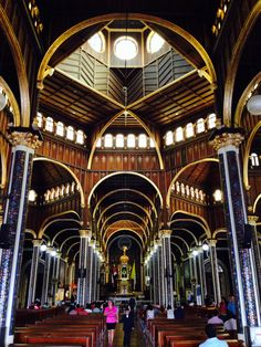 Interior Basílica Cartago