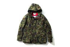 Nanamica Gore-Tex Camo Field Jacket