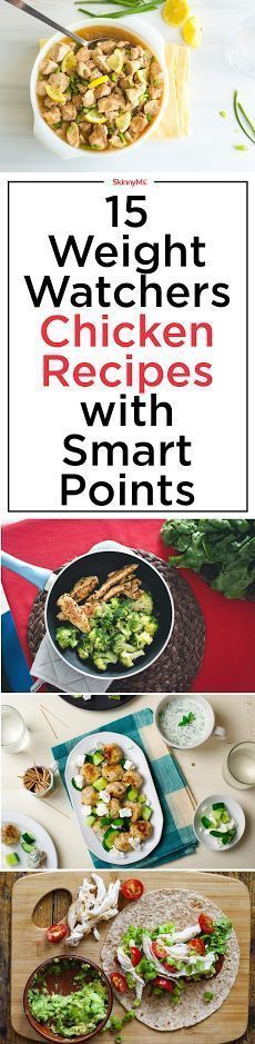 Try these 15 Incredible Weight Watchers Chicken Recipes with Smart Points!