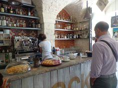 Breakfast in Locorotondo, Italy!