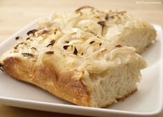 Focaccia con cebolla - MisThermorecetas.com
