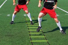 KwikGoal Soccer Agility Training Ladder and more Speed Training Equipment @ SoccerPro Tennis Lessons For Kids, Soccer Drills For Kids, Soccer Pro, Soccer Gear, Soccer Skills, Soccer Ball, Soccer Scores, Messi Soccer, Football Drills