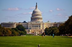 Le capitole où siège le parlement américain