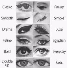 Winged Eyeliner Looks ♥✤ | Keep the Glamour | BeStayBeautiful