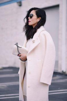 Белое пальто Asos White