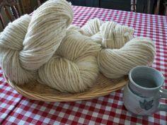 Organic Homespun Extra Large Skein Wool / by IrishHillsFarm, $25.50