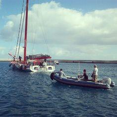 #DCNS à @Fuerteventura pour le filkm #EnSolitaire [by @henrimarcelet]