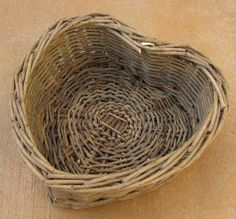 Willow Heart Basket