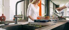 Inšpiratívna ukážka pre využitie batérie typu FRANKE FN 0143.03 v kuchynskom vybavení