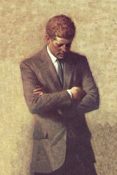 The Official Portrait of President Kennedy