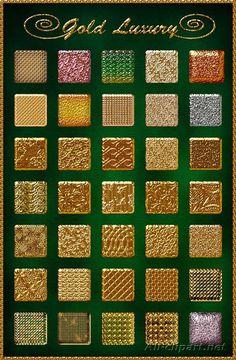 35 Gold Luxury Styles