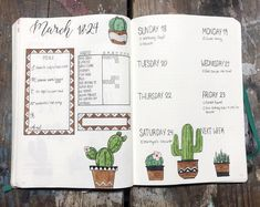 Better late than never right?? Here's my weekly set up loving doodling these little cacti! . . . #weeklyspread #cacti #staycreative #bulletjournal #bujo #bujojunkies #bulletjournaljunkies #planner #organization #bulletjournallove #bulletjournalideas #mildliner #tombowdualbrushpens #crayolasupertips #pigmamicron #journal #showmeyourbulletjournal #sleepybujo #leuchtturm1917 #doodle #handlettering #bujobeauty #showmeyourplanner #showmeyourbulletjournal #bulletjournalcollection