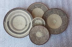 Wall Basket, Baskets On Wall, Hanging Baskets, Above Bed Decor, Weaving Techniques, African, Wall Decor, Tonga, Handmade