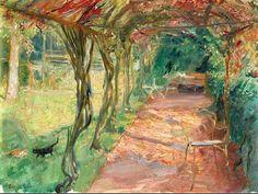 Under an Arbour, 1901 Max Slevogt