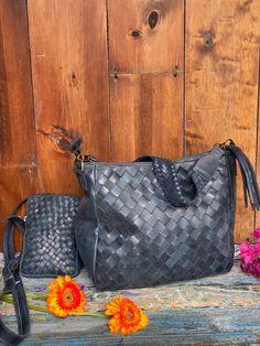 Slate blue Woven set Vintage Textiles, Textile Art, Slate, Louis Vuitton Damier, Pattern, Bags, Handbags, Chalkboard, Patterns