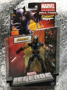 "Marvel Legends X-FORCE WOLVERINE Hit Monkey Series 6"" Action Figure Hasbro NIP #MarvelLegends"