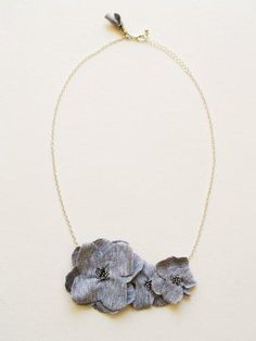 DIY Anthropologie necklace. Yes, another one...