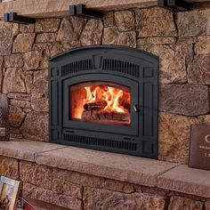 Wood Heat sells the RSF Pearl, plus wood fireplaces from other top manufacturers. Visit one of our showrooms today! Wood, Rustic Fireplaces, Rustic House, Wood Stove, Wood Burning Fireplace, Shiplap Fireplace, Zero Clearance Fireplace, Stove Fireplace, Wood Burning Fireplace Inserts