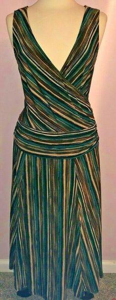 1145be26cb CONNECTED APPAREL FOR DILLARD S MIDI LENGTH DROP WAIST JERSEY KNIT SIZE 16  NWOT - dillards dresses