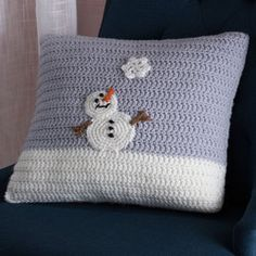 Snowy Day Pillow