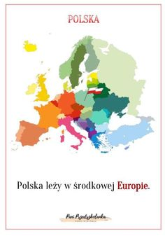 Poland Culture, Gdansk Poland, Kids And Parenting, Montessori, Homeschool, Crafts For Kids, Teaching, Education, Maps