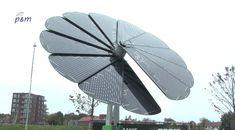 передвижная солнечная батарея Smartflower