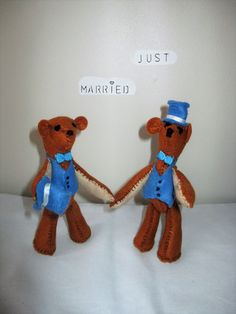 Same Sex Wedding Cake Toppers, Civil partnership, Gay wedding by oothatsnice on Etsy