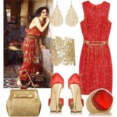 """John William Waterhouse"" by ana-cris on Polyvore"