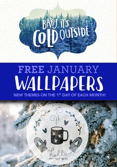 NEW! Free, fun wallpapers for your desktop, table or phone! New themes on the 1st of each month! Available exclusively on Joann.com! // Desktop Wallpaper Background // iPhone Wallpaper Background // Tablet Wallpaper Background // All for FREE!