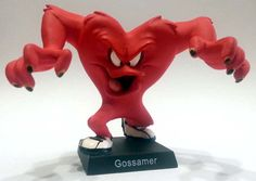 "Gossamer, numero 21 della ""Looney Tunes Collection"" (2012) #Miniatures #Figures #LooneyTunes"