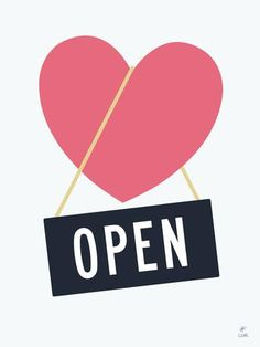 Open Heart Print -  - Print - Christopher David Ryan - CDR