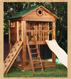 kids playhouse woodworking plans Gavin just pressed repin so I can't say no lol