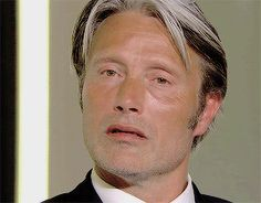 Mads Mikkelsen's soul leaving his body while other people are talking 4/6