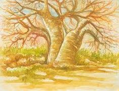 Buy 'The Baobab Tree I' today. Shop unique, award-winning Artisan treasures by NOVICA, the Impact Marketplace. Each original piece goes through a certification process to guarantee best value and premium quality. Watercolor Landscape, Landscape Paintings, Landscapes, Baobab Tree, Aspen Trees, Tree Illustration, Christmas 2015, Merry Christmas, Nature Tree