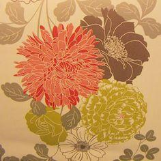 Graham  Brown Flock Effect Wallpaper - Gold/Cream from Homebase
