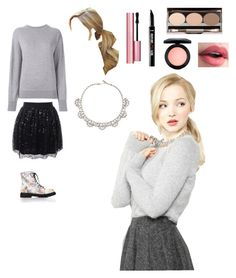 """Dove Cameron"" by jaydengonz ❤ liked on Polyvore featuring J.Crew, Isabel Marant, Susan Caplan Vintage, Forever 21, Nude by Nature, MAC Cosmetics, Too Faced Cosmetics and Benefit"