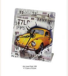 Μπομπονιέρα ρολόι vintage αυτοκίνητο