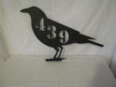 raven silhouette address