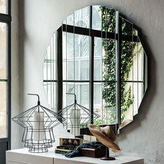 Cattelan Italia Stripes mirror by Paolo Cattelan