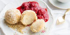 Austrian Recipes, Sweet Stuff, Raspberry, Deserts, Cooking Recipes, Ice Cream, Fruit, School, Food