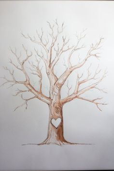 ideas family tree poster ideas kids thumb prints for 2019 Family Tree For Kids, Family Tree Art, Trees For Kids, Family Tree Picture, Family Tree Paintings, Family Tree Drawing, Thumbprint Tree, Family Tree Poster, Guest Book Tree