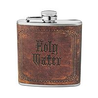 Holy water flask.
